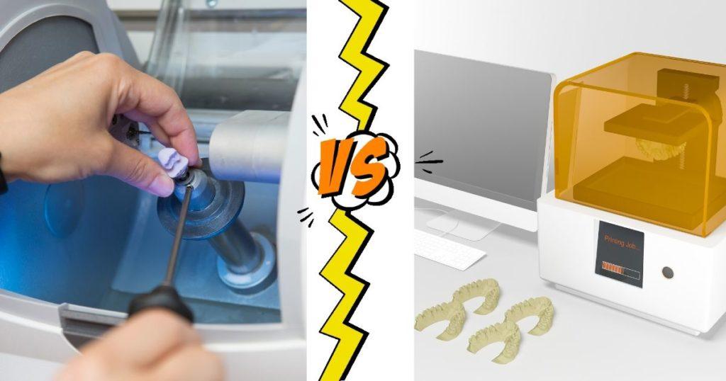 Frezarka CAD/CAM vs Drukarka 3D